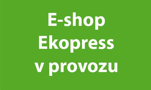 Prodejna Ekopress je uzavřena.