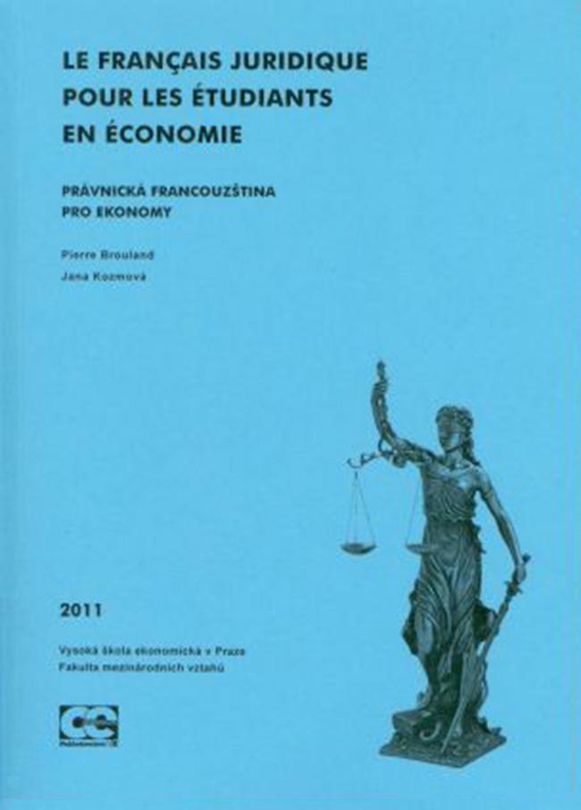 Le Français juridique pour les étudiants en économie