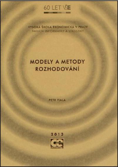 Modely a metody rozhodování