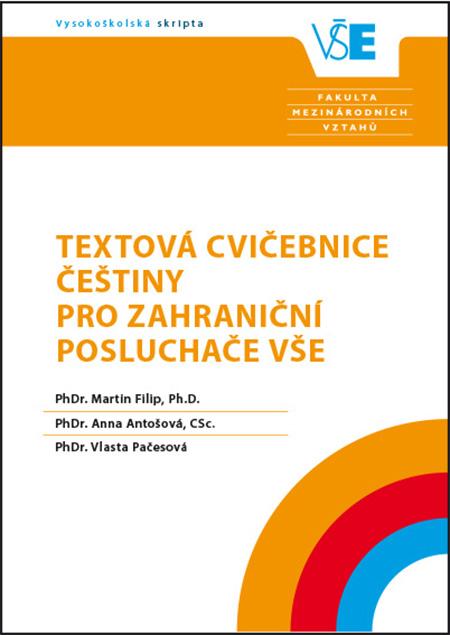 Textová cvičebnice češtiny pro zahraniční posluchače VŠE