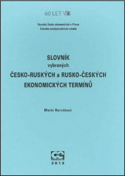 Slovník vybraných česko-ruských a rusko-českých ekonomických termínů
