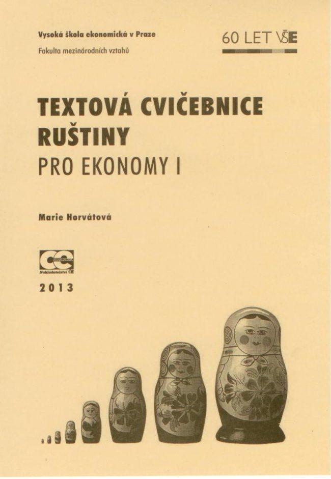 Textová cvičebnice ruštiny pro ekonomy I
