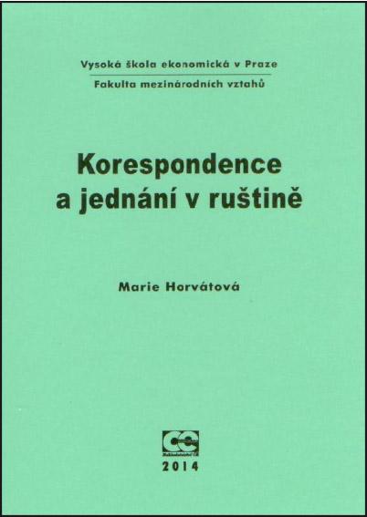 Korespondence a jednání v ruštině