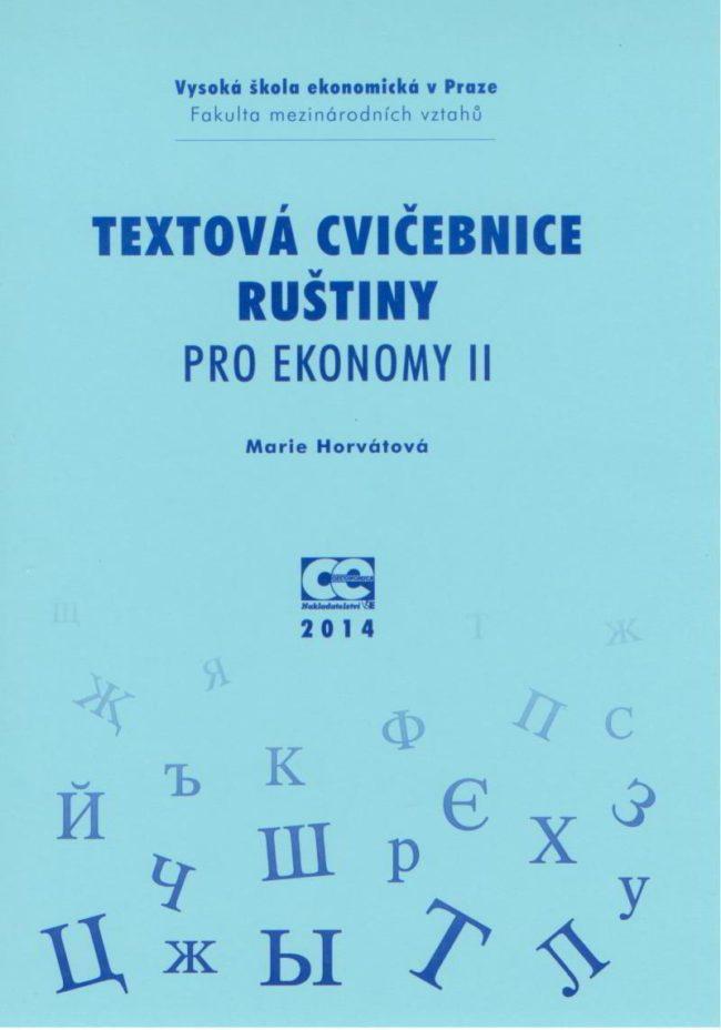 Textová cvičebnice ruštiny pro ekonomy II