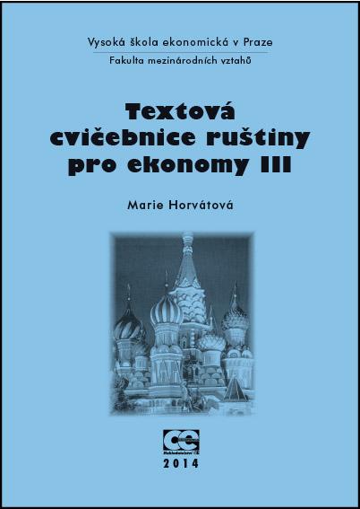 Textová cvičebnice ruštiny pro ekonomy III