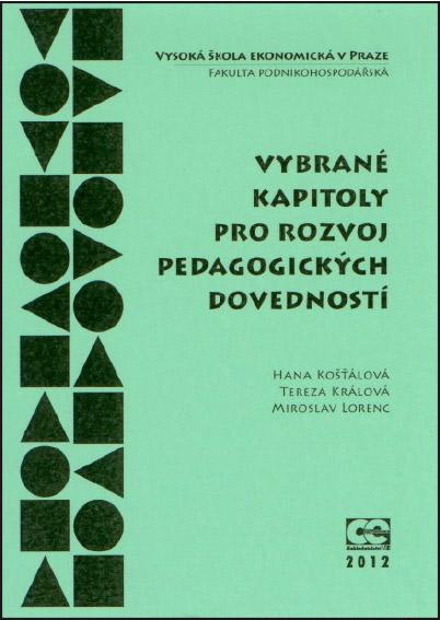 Vybrané kapitoly pro rozvoj pedagogických dovedností