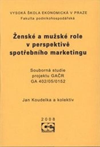 Ženské a mužské role v perspektivě spotřebního marketingu + CD