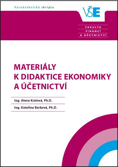 Materiály k didaktice ekonomiky a účetnictví