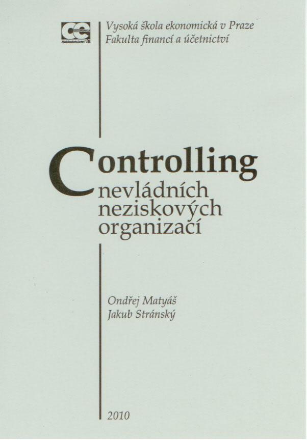 Controlling v nevládních neziskových organizacích