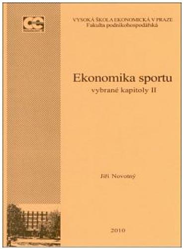 Ekonomika sportu II. – vybrané kapitoly