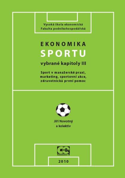Ekonomika sportu III. – vybrané kapitoly