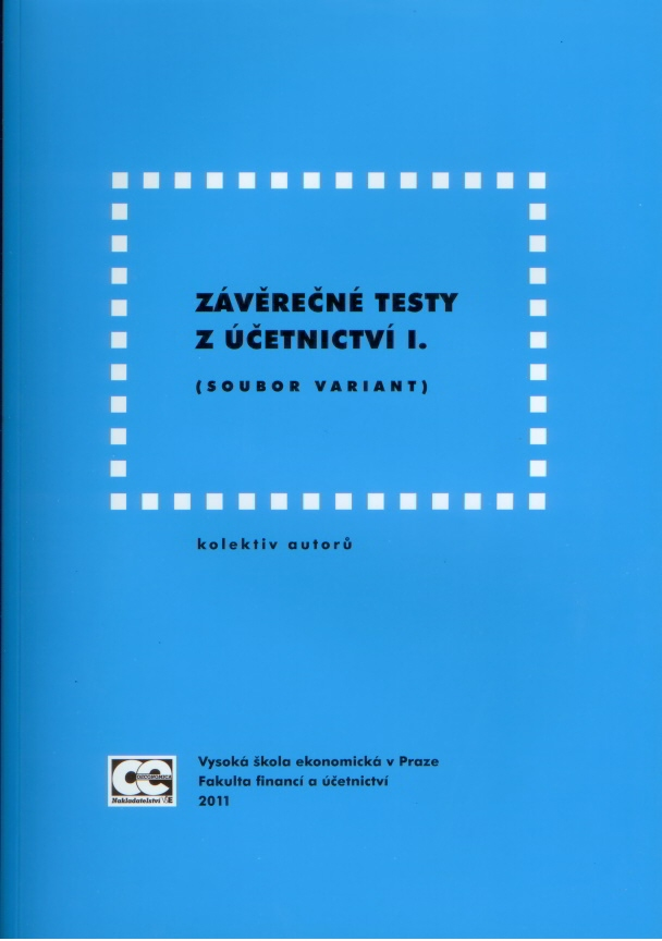 Závěrečné testy z účetnictví I. Soubor variant