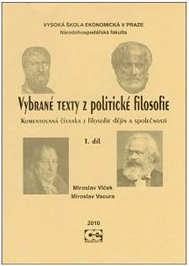 Vybrané texty z politické filosofie 1. díl